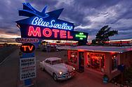 Blue Swallow Motel, Route 66, Tucumcari, New Mexico