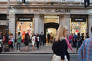Vogue's Fashion night out special opening of the Halcyon Gallery.  New Bond St. London. 6 December 2012.
