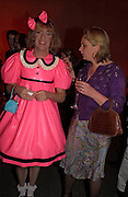 Grayson Perry and Louisa Buck, 2004 Turner prize. Tate Britain. 7 December 2004. ONE TIME USE ONLY - DO NOT ARCHIVE  © Copyright Photograph by Dafydd Jones 66 Stockwell Park Rd. London SW9 0DA Tel 020 7733 0108 www.dafjones.com
