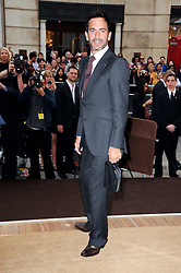 Fashion designer MARC JACOBS at a party to celebrate the opening of the Louis Vuitton Bond Street Maison, New Bond Street, London on 25th May 2010.