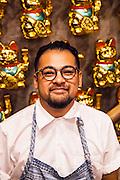 Chef Jowett Yu at Ho Lee Fook, 1 Elgin Street, Hong Kong