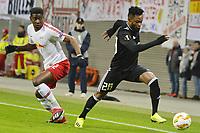 13.12.2018, , Fussball UEFA Europa League, RB Leipzig - Rosenborg Duel for the ball between Nordi Mukiele RBL li nd Samuel Adegbenro RBK re Leipzig Sachsen Germany  <br /> <br /> Norway only
