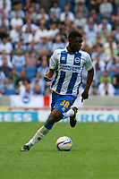 Football - 2013 / 2014 Championship  - Brighton & Hove Albion vs. Derby County<br /> Brighton's Rohan Ince in action at The American Express Community Stadium <br /> <br /> Colorsport/Shaun Boggust