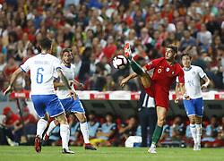 September 10, 2018 - Lisbon, Italy - Portugal v Italy - UEFA Nations League.Andre Silva of Portugal controls the ball at Estadio da Luz in Lisbon, Portugal on September 10, 2018. (Credit Image: © Matteo Ciambelli/NurPhoto/ZUMA Press)