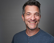 Photographer Drew Bird poses for a headshot at SOSKIphoto in Hayward, California, on October 22, 2020. (Stan Olszewski/SOSKIphoto)