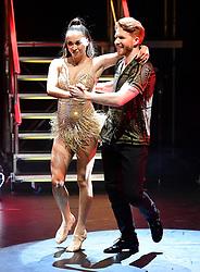Katya Jones and Neil Jones attending the Strictly Come Dancing Professionals UK Tour at Elstree Studios, London.