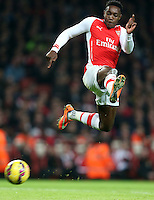 Arsenal's Danny Welbeck in action during todays match  <br /> <br /> Photographer Kieran Galvin/CameraSport<br /> <br /> Football - Barclays Premiership - Arsenal v Manchester United - Saturday 22nd November 2014 - The Emirates Stadium - London<br /> <br /> © CameraSport - 43 Linden Ave. Countesthorpe. Leicester. England. LE8 5PG - Tel: +44 (0) 116 277 4147 - admin@camerasport.com - www.camerasport.com