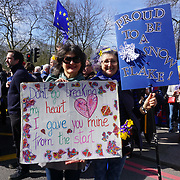 Thousands March Against Brexit in central London,UK. by See Li