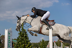 Vereecke Andres, BEL, In The Mood<br /> Belgisch Kampioenschap Jumping  <br /> Lanaken 2020<br /> © Hippo Foto - Dirk Caremans<br /> 02/09/2020