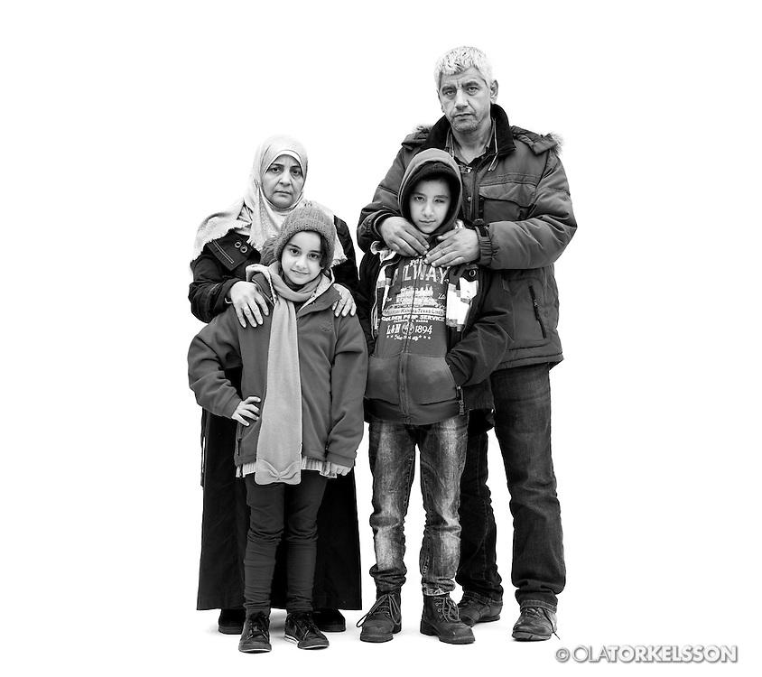 Malmö, Sweden October 2015.<br /> Pictures of newly arrived refugees in Malmö, Sweden.<br /> Photo by Ola Torkelsson <br /> Copyright Ola Torkelsson ©