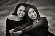 Twila and her daughter, Ali. Toro Canyon, 2006.