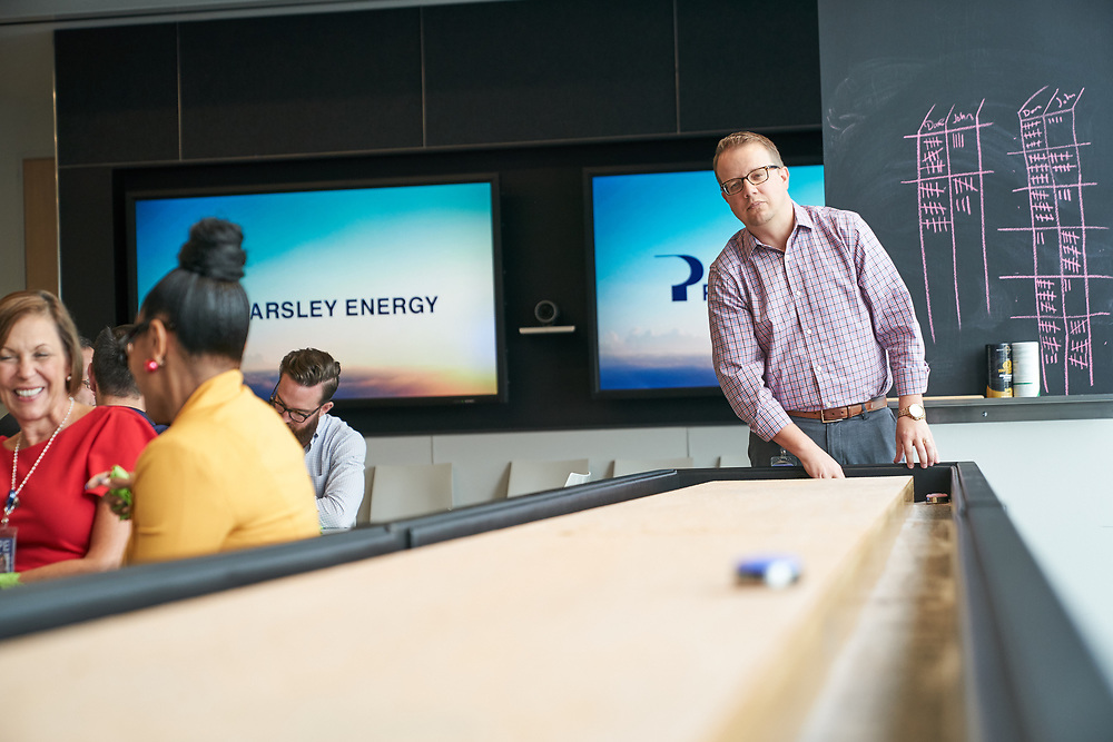 Parsley Energy Headquarters environmental photos, Austin, TX, September 12, 2018. Photograph ©2018 Darren Carroll