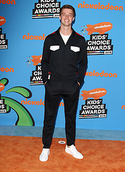 The 31st Annual Nickelodeon Kids' Choice Awards at The Forum in Inglewood, California on 3/24/18. 24 Mar 2018 Pictured: Patrick Schwarzenegger. Photo credit: River / MEGA TheMegaAgency.com +1 888 505 6342