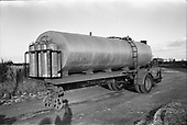 1963 - Tanker trailer at McNeills, Collinstown Cross