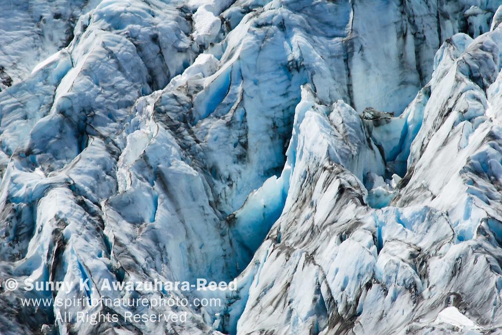 Exit Glacier close up details