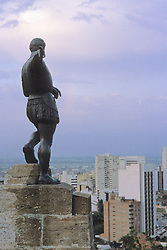 Statue On Monserrate Hill