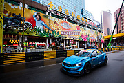 Nestor GIROLAMI, Polestar Cyan Racing, Volvo S60 WTCC<br /> 64th Macau Grand Prix. 15-19.11.2017.<br /> Suncity Group Macau Guia Race - FIA WTCC<br /> Macau Copyright Free Image for editorial use only