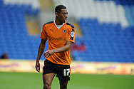 Rajiv Van La Parra of Wolverhampton Wanderers looks on.  Skybet football league championship match, Cardiff city v Wolverhampton Wanderers at the Cardiff city stadium in Cardiff, South Wales on Saturday 22nd August 2015.<br /> pic by Andrew Orchard, Andrew Orchard sports photography.