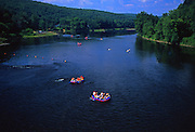 Delaware River, Delaware Watergap national Recreation Area, rafting Upper Delaware Recreation and Scenic River, Pike Co., PA, Water Sports