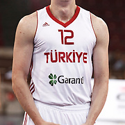 Turkey's Omer Faruk ASIK during their Istanbul CUP 2011match played Montenegro between Turkey at Abdi Ipekci Arena in Istanbul, Turkey on 25 August 2011. Photo by TURKPIX