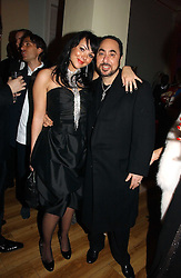 DAVID GUEST and MARTINE McCUTCHEON at Andy & Patti Wong's annual Chinese New year Party, this year to celebrate the Year of The Pig, held at Madame Tussauds, Marylebone Road, London on 27th January 2007.<br /><br />NON EXCLUSIVE - WORLD RIGHTS