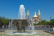 The Plaza de la Liberacion, Liberacion Square, Guadalajara, Jalisco, Mexico