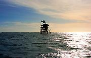 Floyd's Pelican Bar - off shore bar and leisure centre - Treasure Beach Jamaica