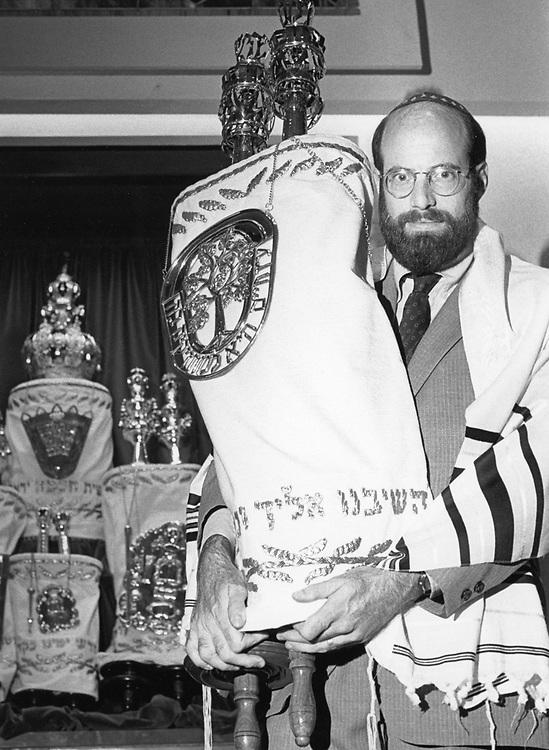 ©1990 Rabbi with a Torah, Austin, TX