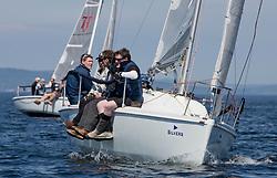 Silvers Marine Scottish Series 2017<br /> Tarbert Loch Fyne - Sailing<br /> <br /> GBR7060N, Seaword, Dara O'Malley, PEYC<br /> <br /> Credit Marc Turner / PFM