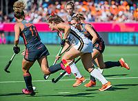 ANTWERPEN -  Sonja Zimmermann (Ger)  tijdens  de   finale  dames  Nederland-Duitsland  (2-0) bij het Europees kampioenschap hockey.   COPYRIGHT  KOEN SUYK