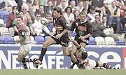 Reading, England, Nick GREENSTOCK, Action from the, European Shield Final, at the Madejski Stadium, NEC Harlequins v RC Narbonne.<br /> [Mandatory Credit, Peter Spurrier/ Intersport Images].