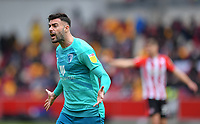 Football - 2020 / 2021 Sky Bet Championship - Semi-final play-offs - Second leg - Brentford vs AFC Bournemouth - Brentford Community Stadium<br /> <br /> Diego Rico of Bournemouth frustrated with a decision.<br /> <br /> COLORSPORT/ASHLEY WESTERN