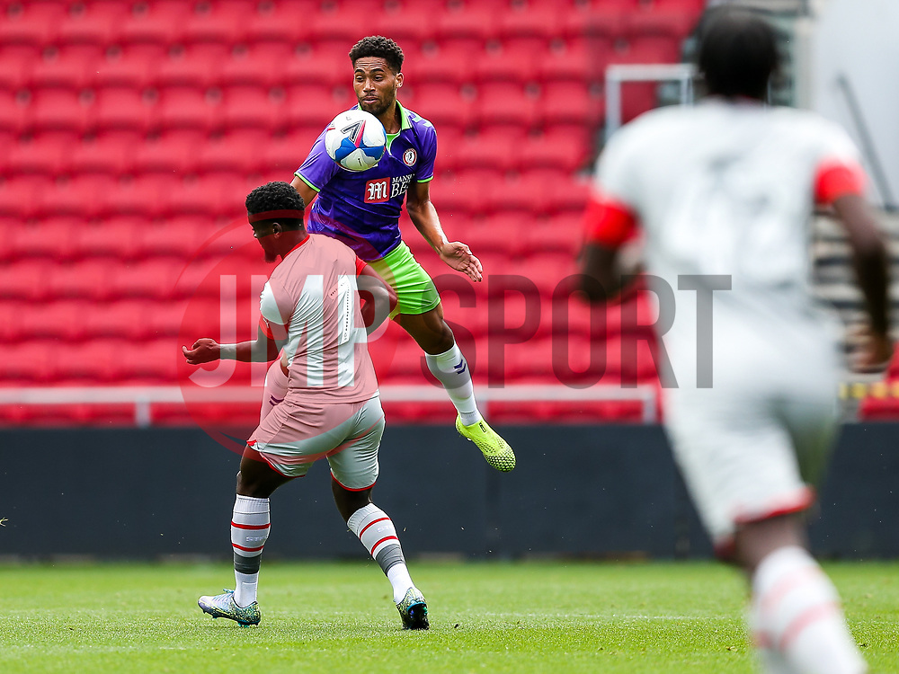 Zak Vyner of Bristol City - Rogan/JMP - 29/08/2020 - Ashton Gate Stadium - Bristol, England - Bristol City v Swindon Town - Pre Season Friendly.