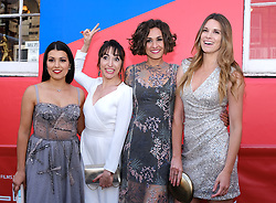 Edinburgh International Film Festival 2019<br /> <br /> H0us3 (International Premiere)<br /> <br /> Stars arrive on the red carpet for the international premiere<br /> <br /> Pictured: Cristina Raya, Anna Bertran, Miriam Tortosa and Mariona Tena<br /> <br /> Aimee Todd | Edinburgh Elite media