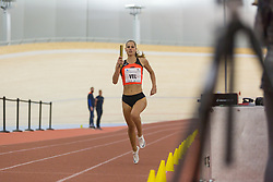 Anita Horvat competes during day 2 of Slovenian Athletics Indoor Championships 2020, on February 23, 2020 in Novo mesto, Slovenia. Photo by Peter Kastelic / Sportida