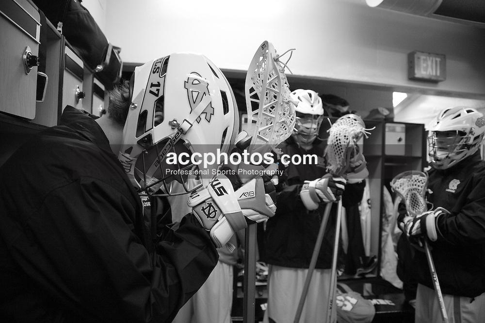 06 March 2010: North Carolina Tar Heels men's lacrosse in Cantonsville, MD.