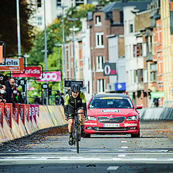 BROWN Grace ( AUS ) – MITCHELTON SCOTT ( MTS ) - AUS – Querformat - quer - horizontal - Landscape - Event/Veranstaltung: Liège Bastogne Liège - Category/Kategorie: Cycling - Road Cycling - Elite Women - Elite Men - Location/Ort: Europe – Belgium - Wallonie - Liège - Start: Bastogne-Womens Race - Liège-Mens Race - Finish: Liège - Discipline: Road Cycling - Distance: 257 km - Mens Race - 135 km - Womens Race - Date/Datum: 04.10.2020 – Sunday - Photographer: © Arne Mill - frontalvision.com