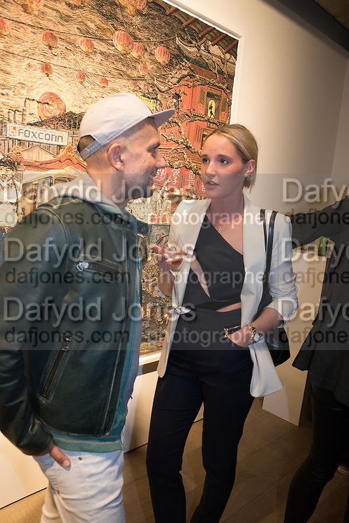MARC QUINN; OLLILIE WINDSOR, Henry Hudson: The Rise and Fall of Young Sen – The Contemporary Artist's Progress - private view. S2,  Sothebys 31 St George Street, London