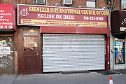 Ebenezer International Church of God / Eglise de Dieu, 1732 Flatbush Avenue, Brooklyn.