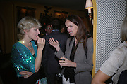 Jane Thynne and  and Bettina von HaseAnnabels magazine cocktail party hosted by William Cash. Annabels. Berkeley Sq. London. 19  September 2005. ONE TIME USE ONLY - DO NOT ARCHIVE © Copyright Photograph by Dafydd Jones 66 Stockwell Park Rd. London SW9 0DA Tel 020 7733 0108 www.dafjones.com