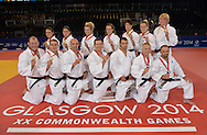Commonwealth Games, Glasgow 2014<br />  26.07.2014<br /> SECC Judo<br /> <br /> Team Scotland<br /> <br />  Neil Hanna Photography<br /> www.neilhannaphotography.co.uk<br /> 07702 246823