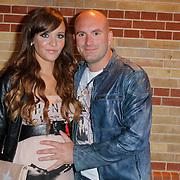 NLD/Amsterdam/20120618 - Inloop Meest Sexy Mannelijke BN'er , Dean Saunders en partner Jamie Faber