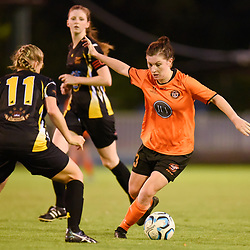BRISBANE, AUSTRALIA - MARCH 24:  during the NPL Queensland Senior Womens Round 8 match between Eastern Suburbs FC and Mudgeeraba Soccer Club at Heath Park on March 24, 2018 in Brisbane, Australia. (Photo by Patrick Kearney)