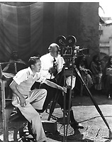 1926 Cecil B DeMille filming King of Kings at DeMille Studios in Culver City