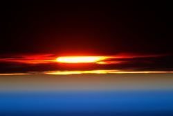 July 15, 2015 - Earth Atmosphere - Astronaut Scott Kelly posted this photo taken from the International Space Station to Twitter on August 1, 2015 with the caption, Day 127. Sunset returns! Perfect end. Thanks again for joining me today. Good night from  YearInSpace. (Credit Image: ? Scott Kelly/NASA via ZUMA Wire/ZUMAPRESS.com)