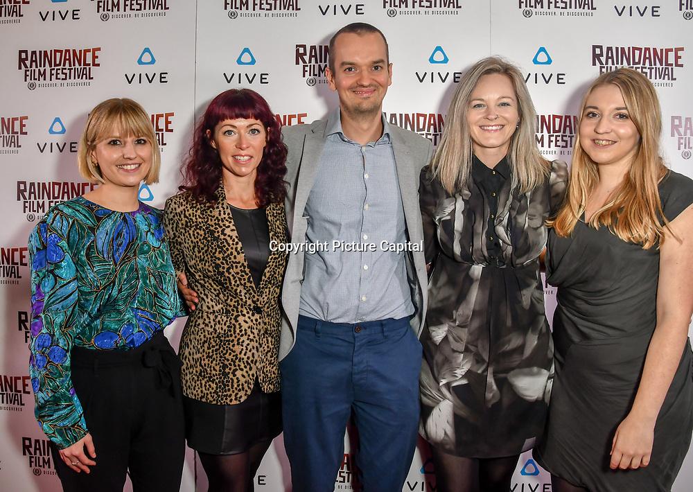 Animal Equality team Nominated attends the Raindance Film Festival - VR Awards, London, UK. 6 October 2018.