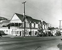 1940 Bit of Sweden Restaurant on Sunset Blvd.
