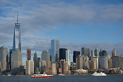 The Majestic New York Skyline seen from New Jersey