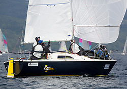 Day two of the Silvers Marine Scottish Series 2016, the largest sailing event in Scotland organised by the  Clyde Cruising Club<br /> Racing on Loch Fyne from 27th-30th May 2016<br /> <br /> GBR8011N, Old School, MacNish/Galbraith/Chas, RGYC<br /> <br /> Credit : Marc Turner / CCC<br /> For further information contact<br /> Iain Hurrel<br /> Mobile : 07766 116451<br /> Email : info@marine.blast.com<br /> <br /> For a full list of Silvers Marine Scottish Series sponsors visit http://www.clyde.org/scottish-series/sponsors/