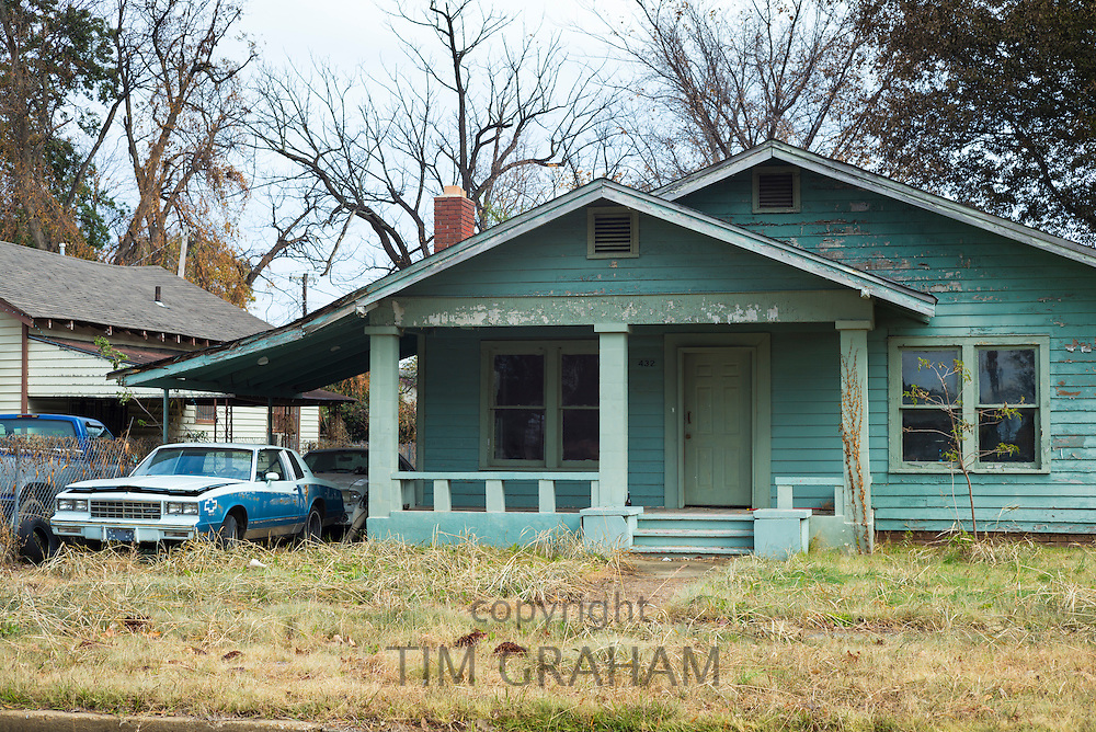 Delta home  in Clarksdale, birthplace of the Blues, Mississippi USA